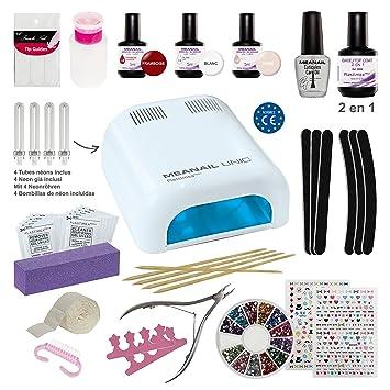 kit ongles semi permanent nail art