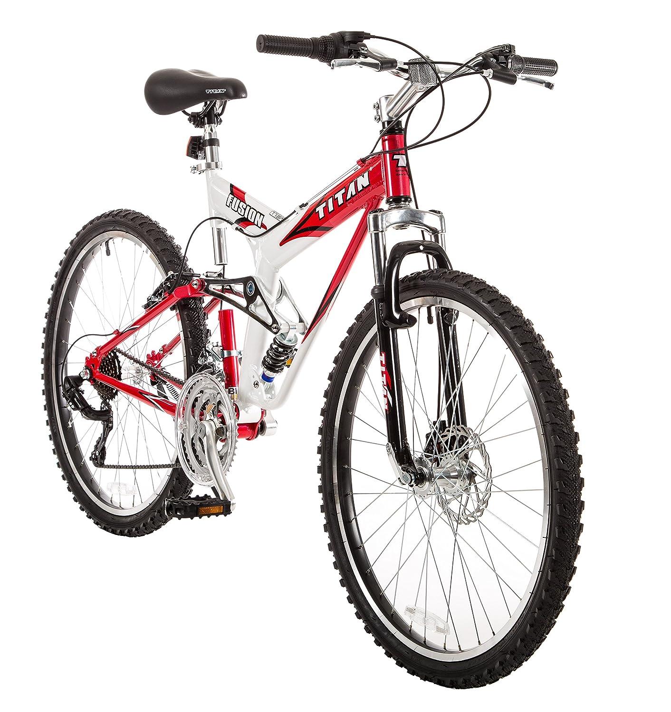 "Titan Bicycles Fusion Pro 21 Speed 19in Frame 26/"" Wheels Mountain Bike"