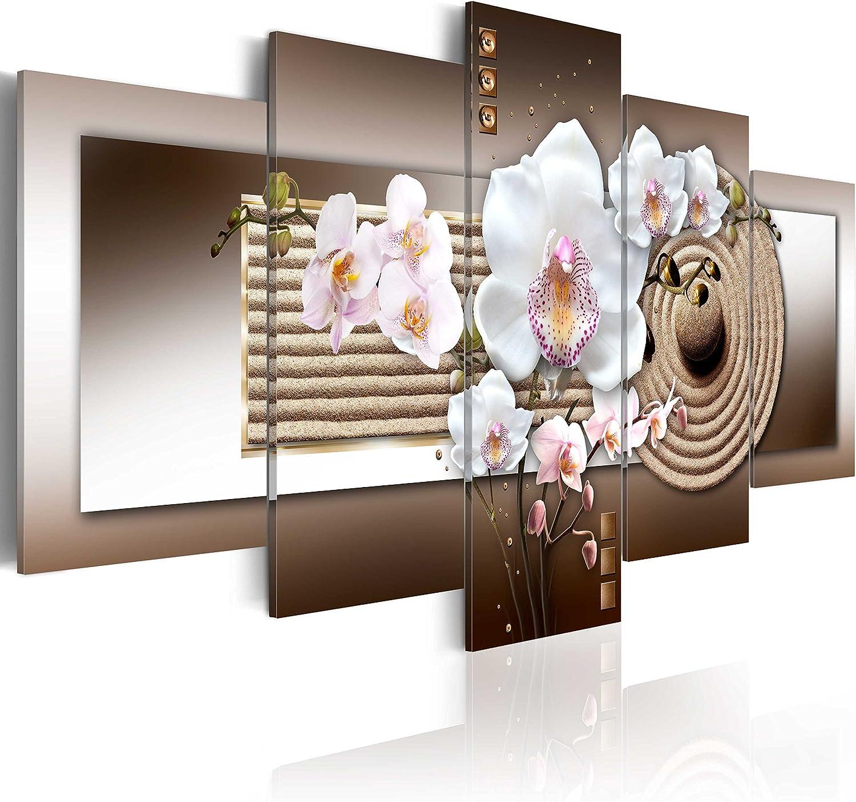 artgeist Financial sales sale Handart Canvas Wall Long Beach Mall Art cm Orchid 89