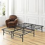 Classic Brands Plataforma de metal, marco para cama, uso como caja de resortes o base