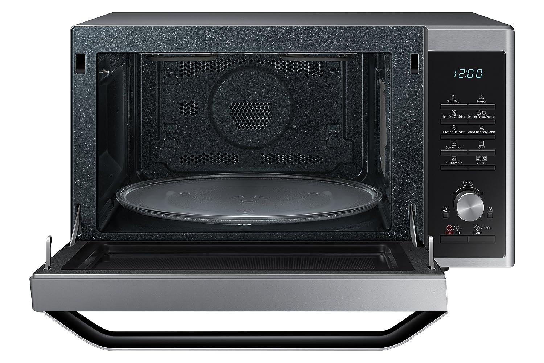 Samsung MC32J7055CT - Microondas con función de horno y grill, color negro y gris