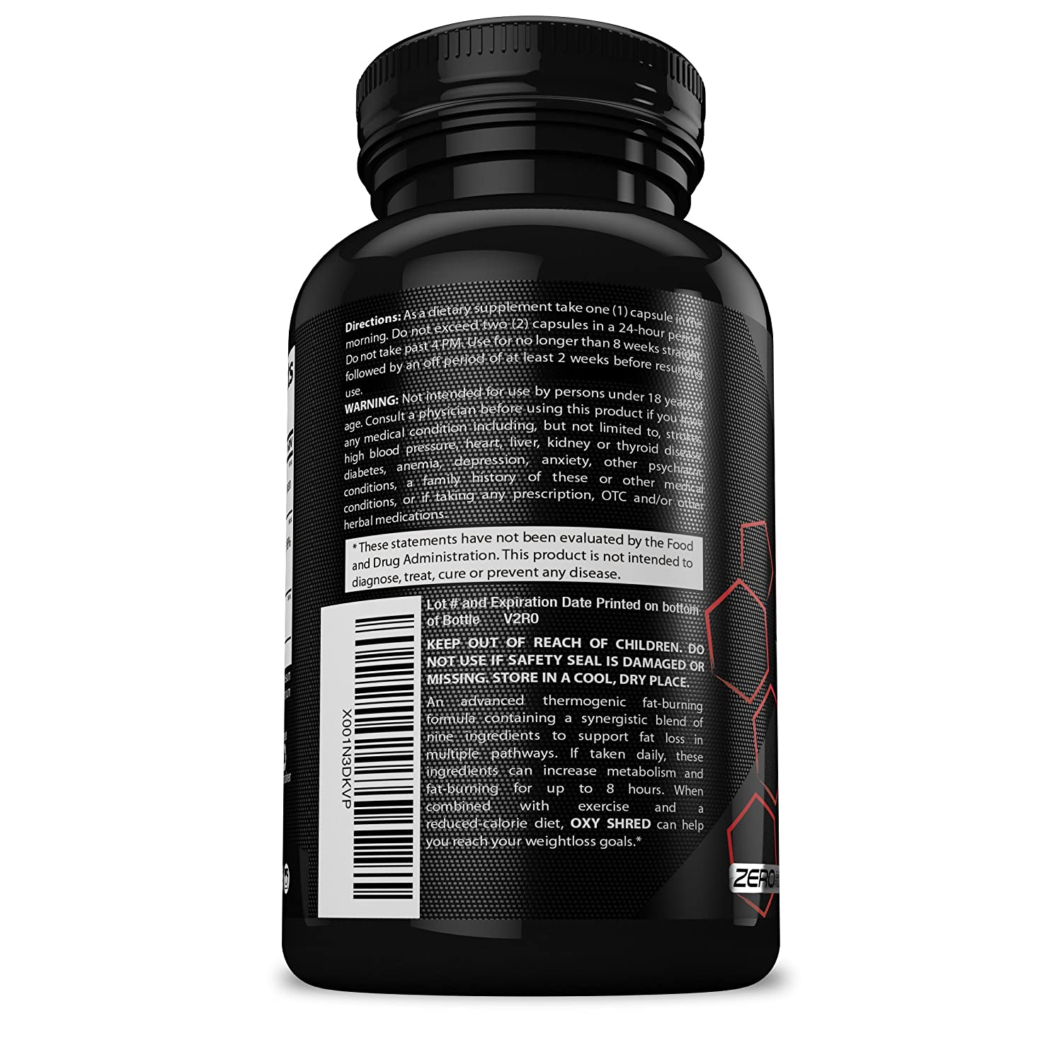 Highmark Nutrition Thermogenic Fat Burner Weight Loss Pills For Women And Men Lose Weight Fast