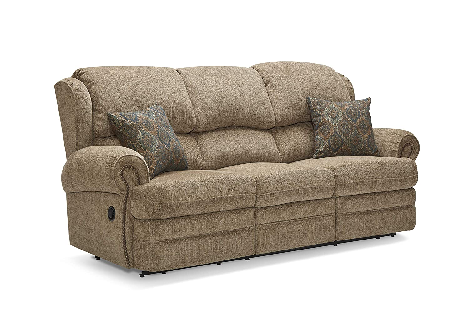 Lane Home Furnishings 57000P-53 Sophie Cappuccino Double Motion Sofa,
