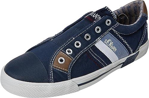 s.Oliver Herren 14603 Sneaker Blau (Navy) 46 EU: