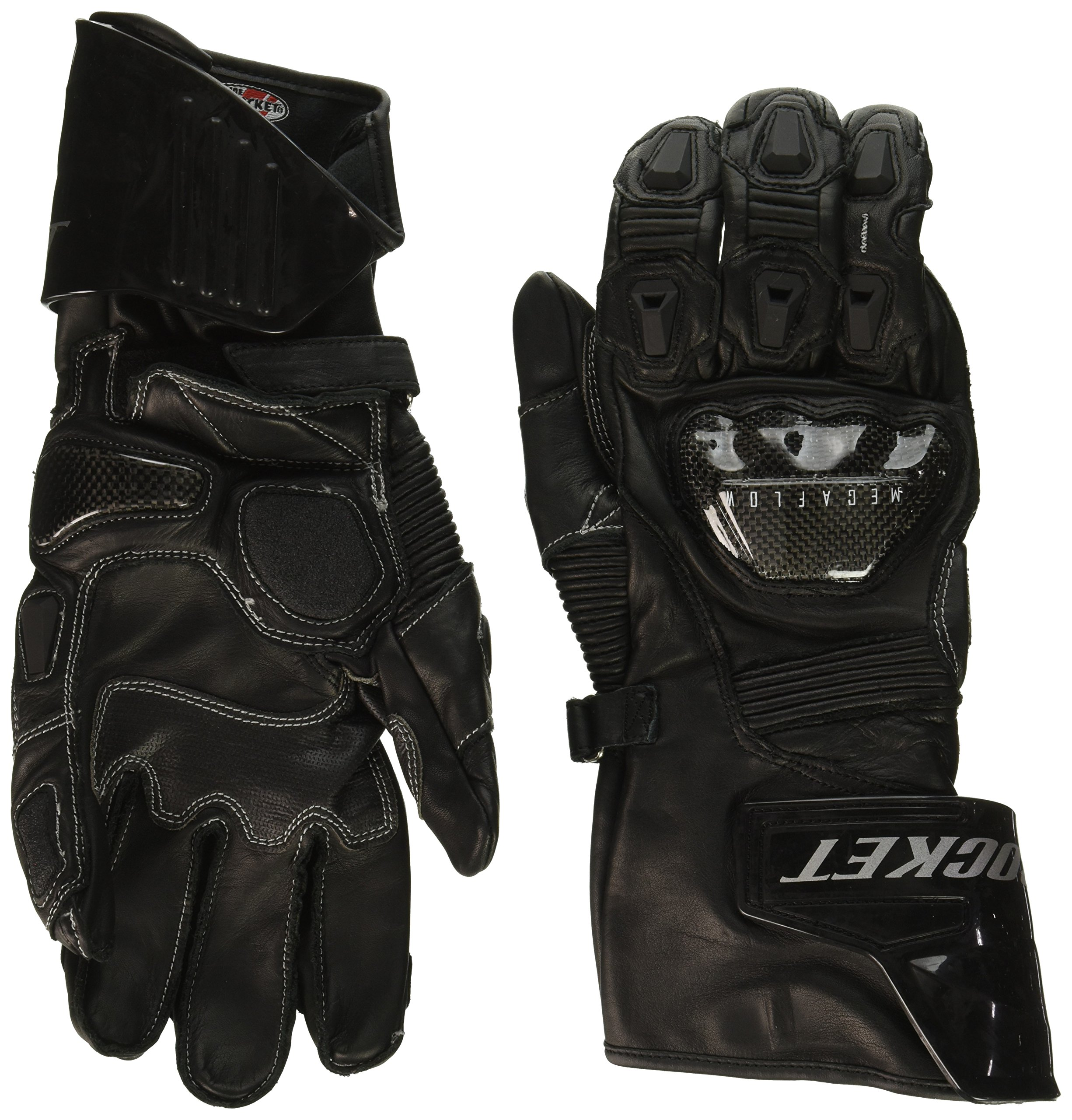 Joe Rocket Men's GPX Motorcycle Gloves (Black/Black, X-Large) by Joe Rocket (Image #1)