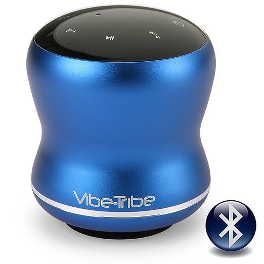 85 opinioni per Vibe-Tribe Mamba- Yale Blue: 18 Watt Bluetooth Vibration Speaker con Touch