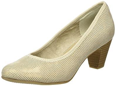 s.Oliver Damen Pumps Beige Schuhe | O46