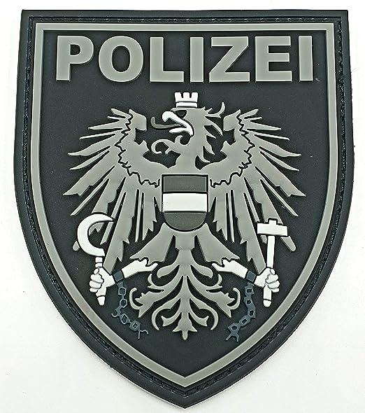 Parche de Goma de la policía de Austria: Amazon.es: Coche y moto