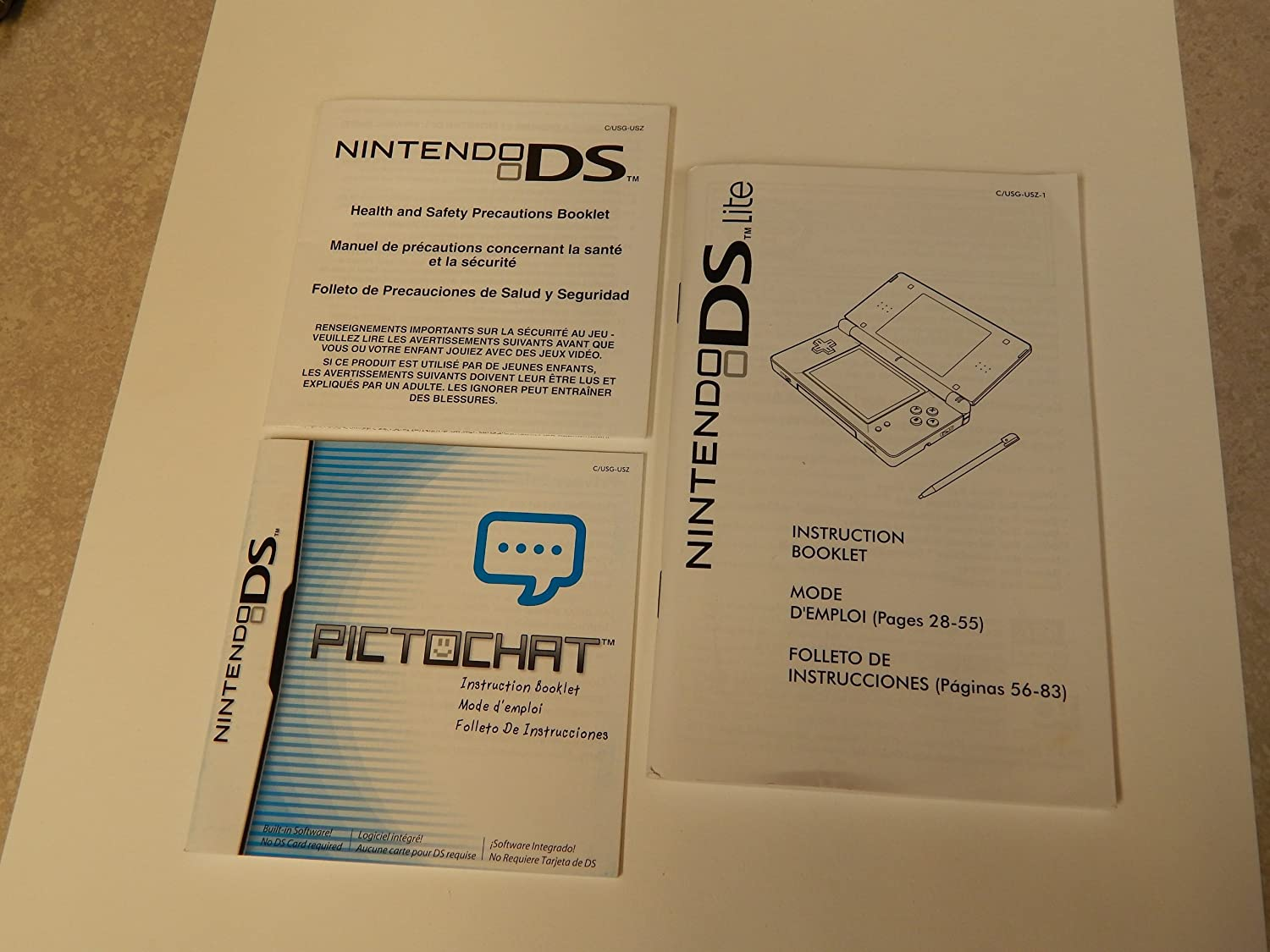 Amazon.com: Nintendo DS Lite w/ Accessories: Video Games