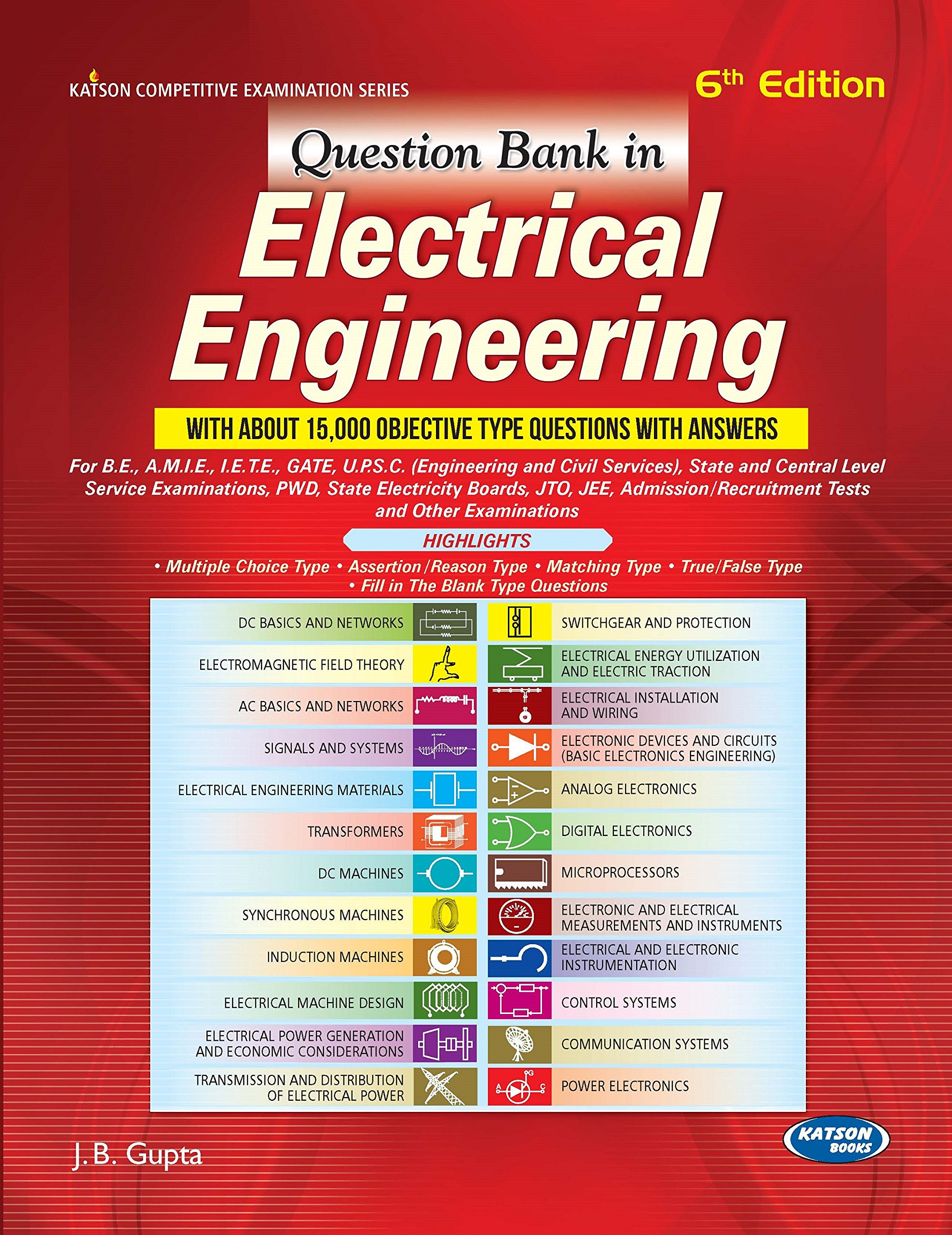 buy question bank in electrical engineering book online at low