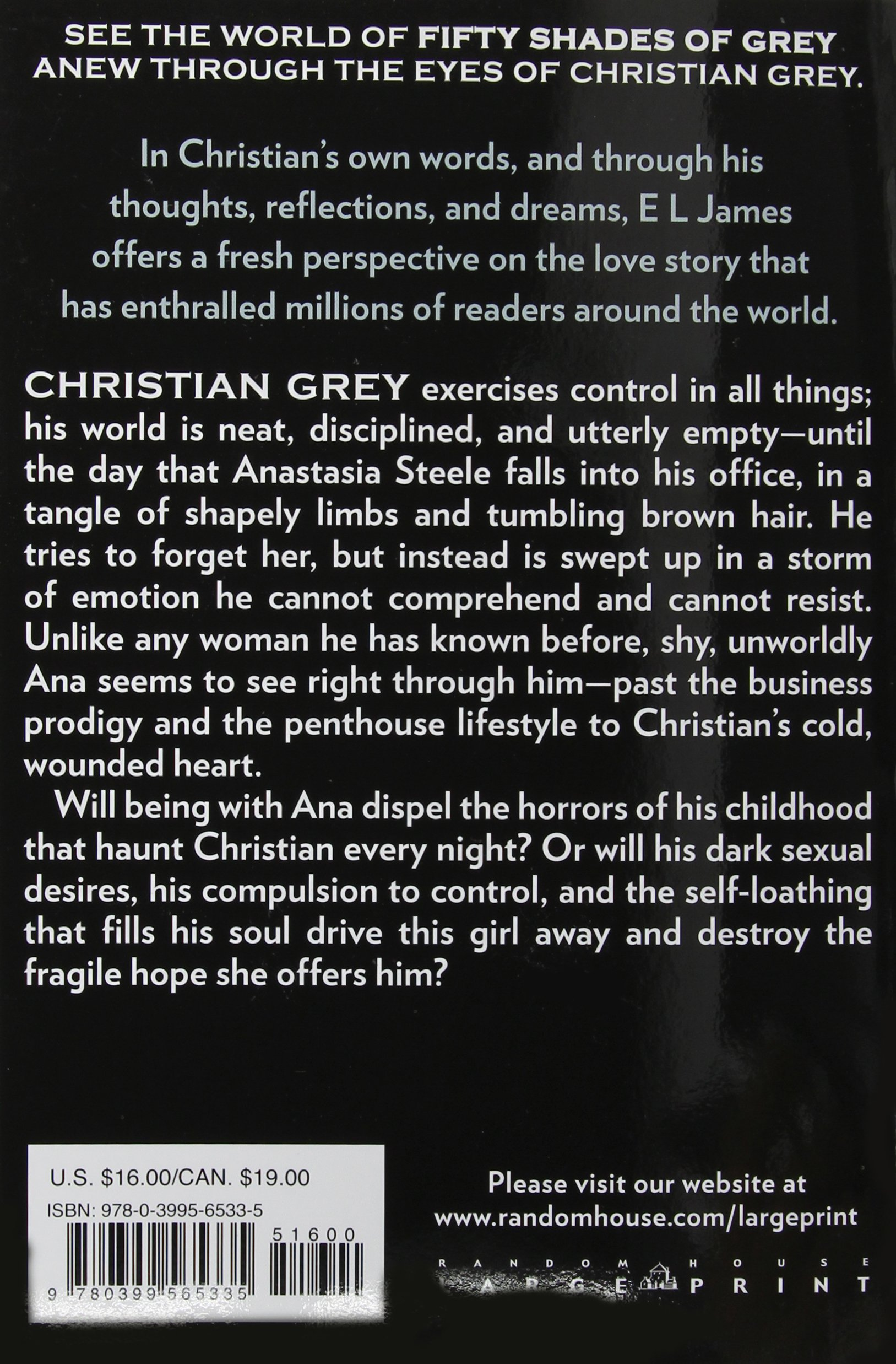 grey fifty shades of grey as told by christian random house grey fifty shades of grey as told by christian random house large print e l james 9780399565335 com books