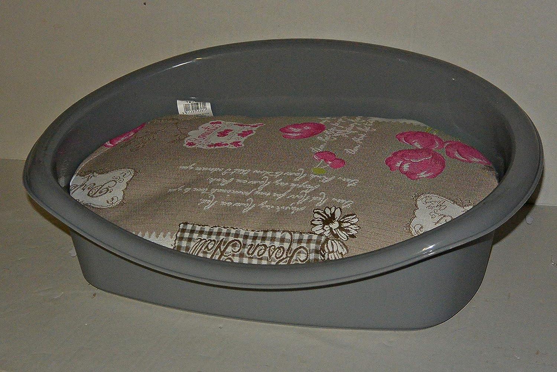 Perros y Gatos cama, 45 x 34 x 17 cm, color rojo: Amazon.es: Productos para mascotas