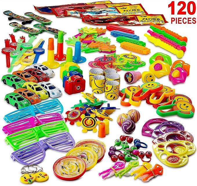 Amazon.com: Reca 120 premios infantiles para fiesta de niños ...