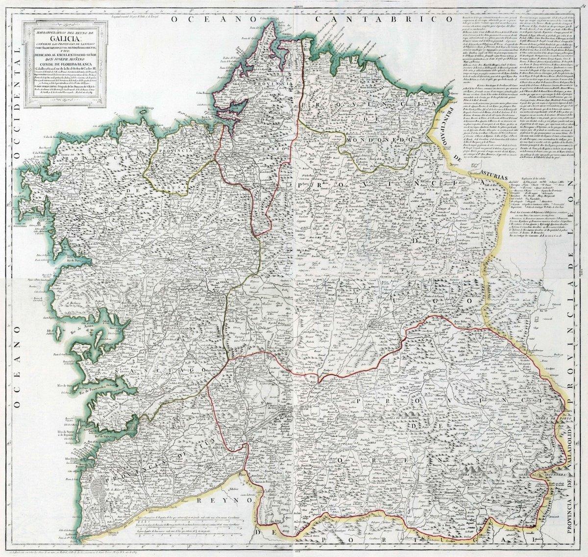 Amazon Com Regional Atlas 1784 Composite Map 50 53 Mapa