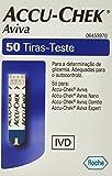 Accu Chek Aviva, test per la misurazione del glucosio –Confezione da 50 strisce