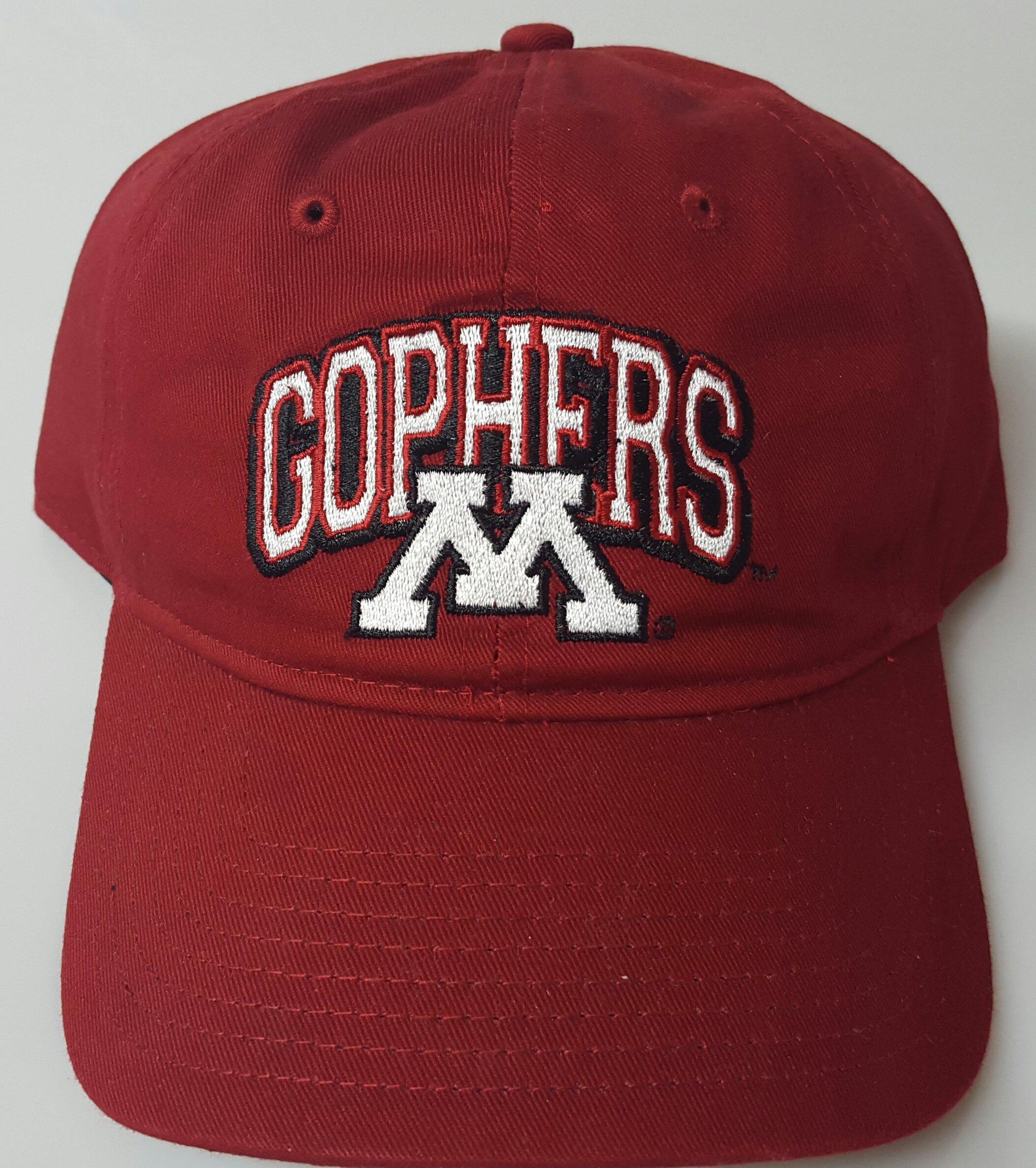 NCAA New Minnesota Golden Gophers Embroidered Buckle Cap