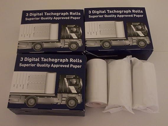 Roltech Premier Rolls for Digital Tachograph