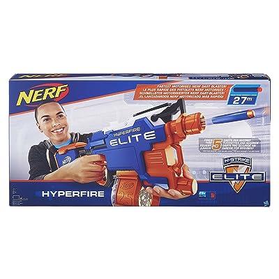 NERF N-Strike Elite HyperFire Blaster: Toys & Games