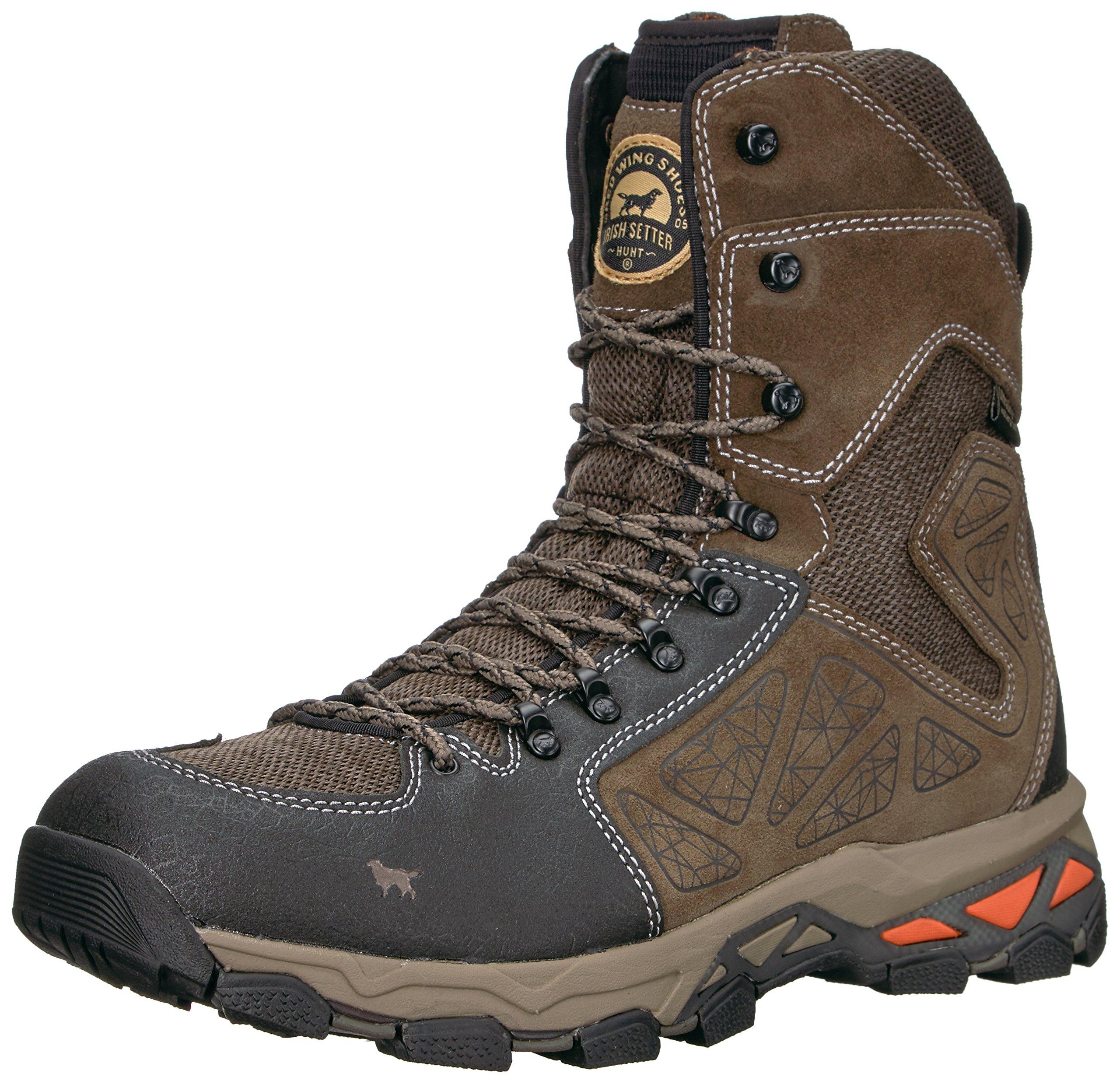 Irish Setter Men's Ravine-2885 Hunting Shoes, Gray/Black, 9 2E US by Irish Setter