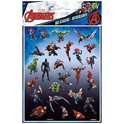 Avengers Sticker Sheets, 4ct: Toys & Games