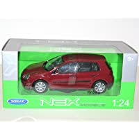 Welly 22458 VW Golf V oscura 1:24 modelo