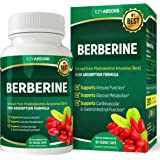 EzyAbsorb Gluten-Free Berberine 500mg, 90 veggie capsules for Blood Sugar Support