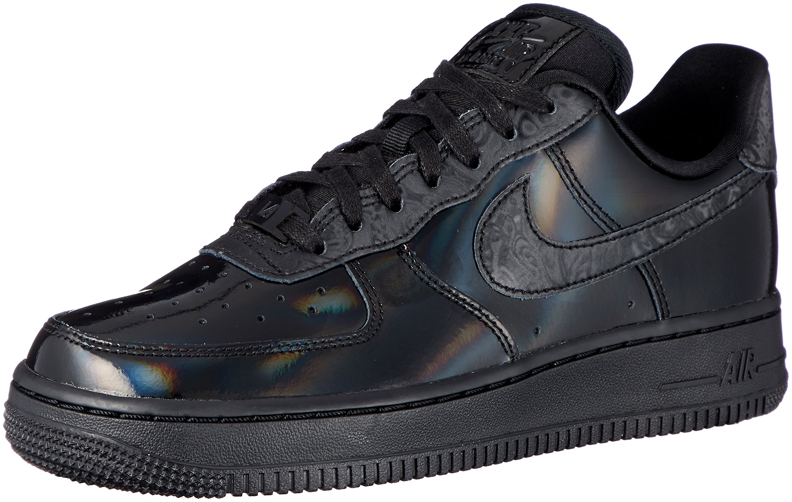Nike Women's WMNS Air Force 1 07 LX, Black/Black-Summit White, 8 US by Nike
