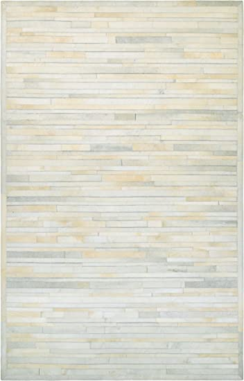 Amazon Com Couristan Chalet Plank Area Rug 3 6 X 5 6 Ivory Furniture Decor