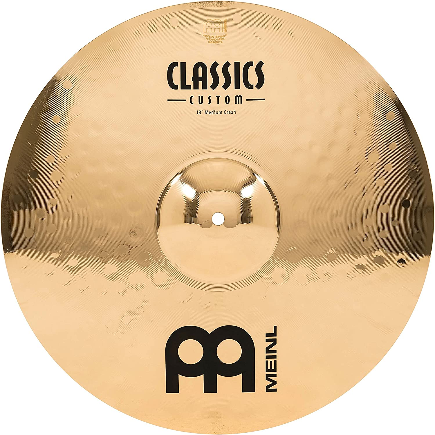"Meinl 18"" Medium Crash Cymbal"