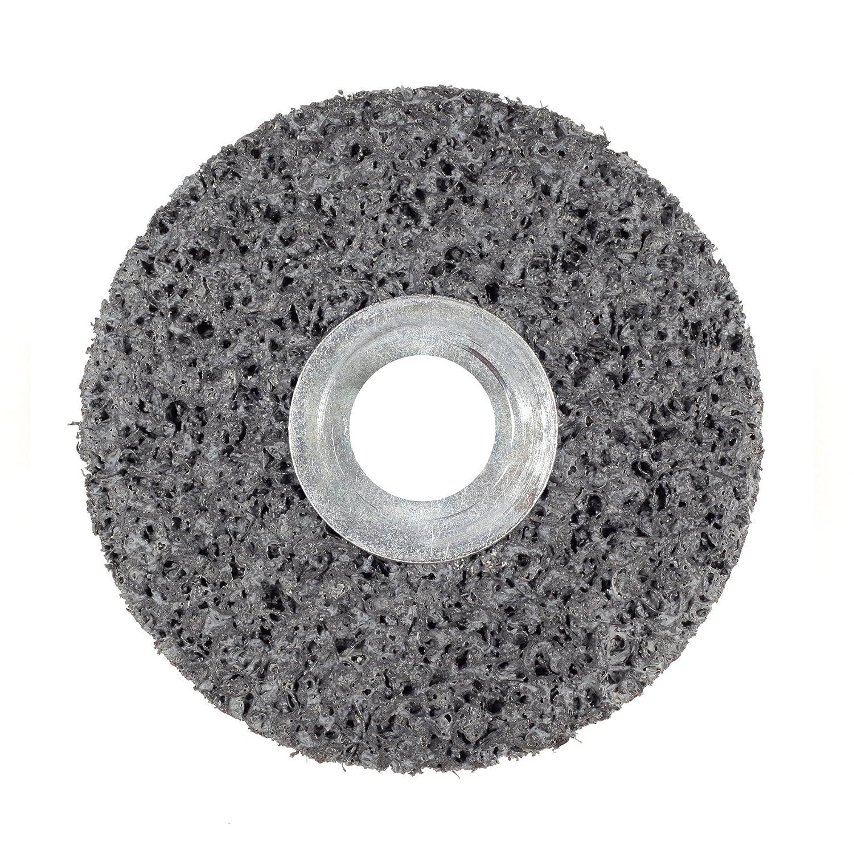 35100 rpm Scotch-Brite 7S Extra Coarse Grit 3//16 Arbor 3M CS-UW Clean and Strip Unitized Wheel Silicon Carbide TM 1 Diameter x 1 Width Pack of 50