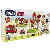 Chicco Eğitici Bloklar İtfaiye Çok Renkli, 70 Parça