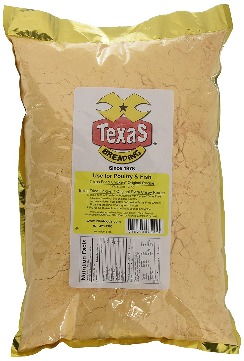 Texas Fried Chicken Breading, 5 lbs.
