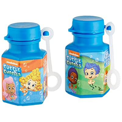 Mini Bubbles Favors | Bubble Guppies Collection | Party Accessory: Toys & Games