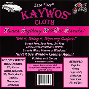 Zezo Fiber Miracle Cleaning and Polishing Cloth By Kaywos (10)