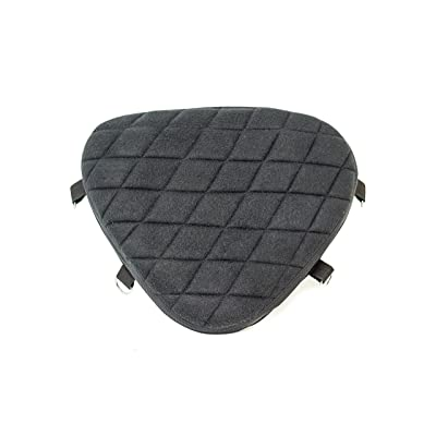 Gel Pad Seat Cushion for Motorcycles with Memory Foam (Driver): Automotive