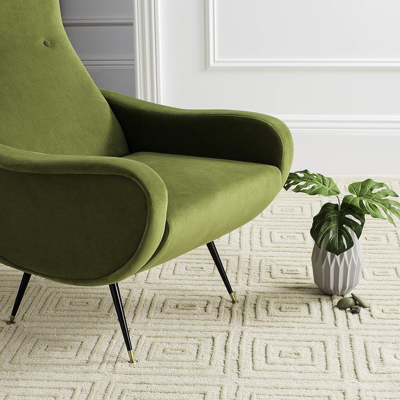 Safavieh Accent - Sillón (88 x 72 x 93,98 cm), Color Verde ...