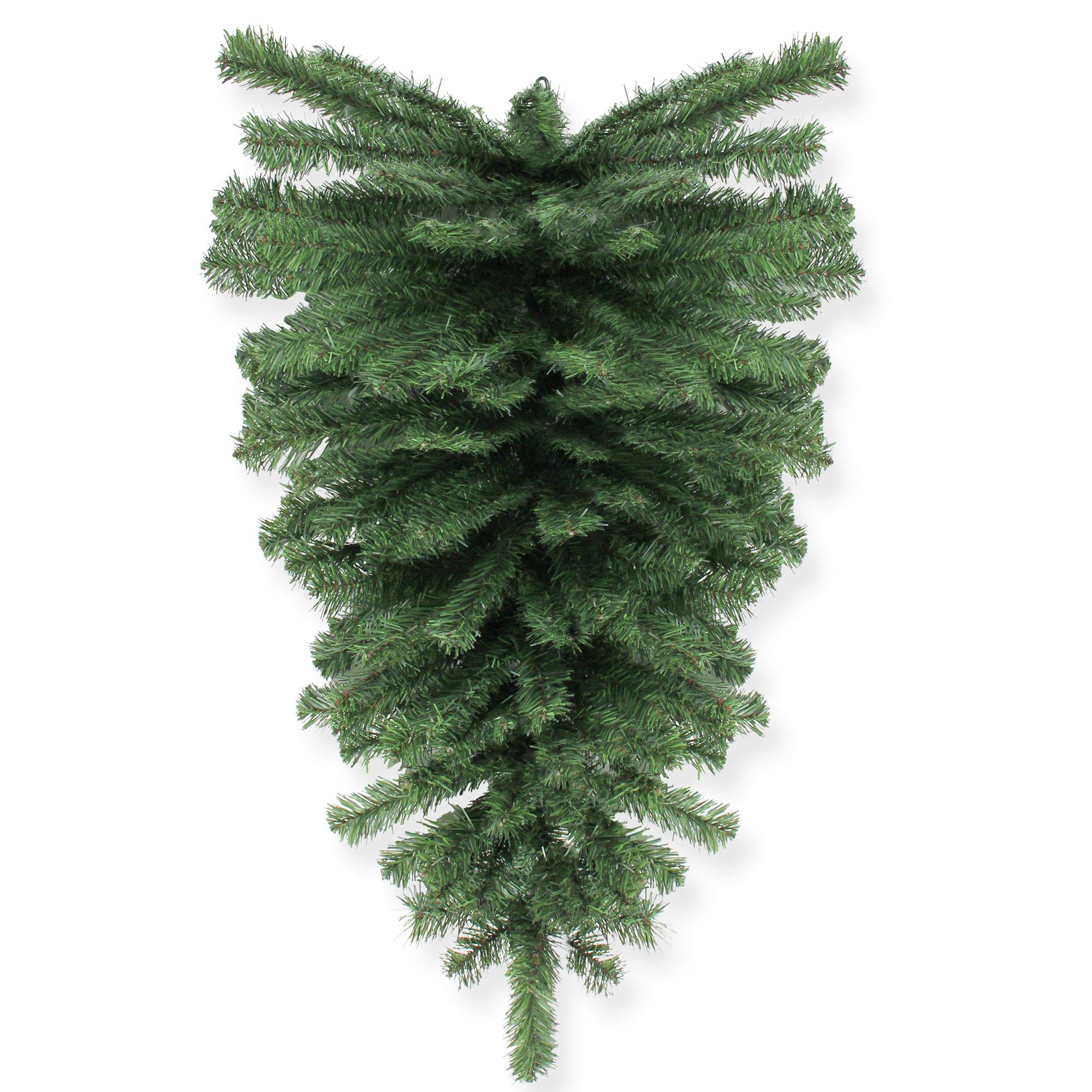 Northlight 32'' Canadian Pine Artificial Christmas Teardrop Swag - Unlit