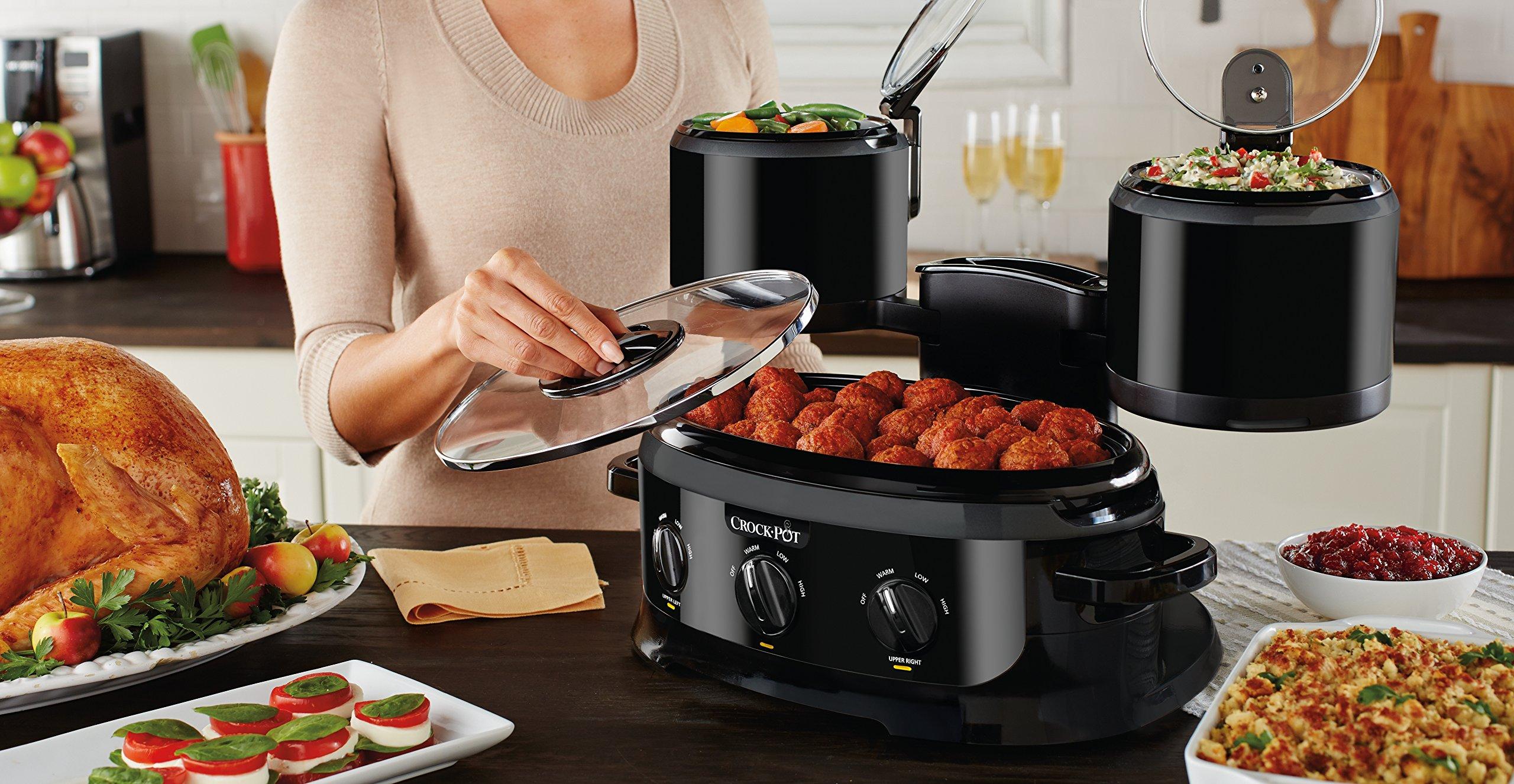 Crock-pot SCCPTOWER-B Swing and Serve Slow Cooker, Black by Crock-Pot (Image #3)