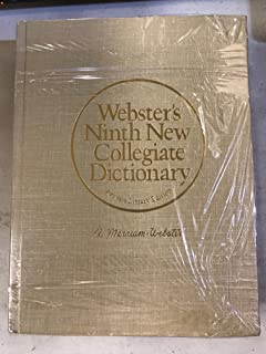 Websters ninth new collegiate dictionary online