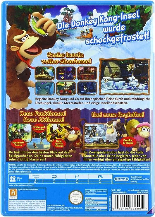 Donkey Kong Country: Tropical Freeze - Nintendo Selects [Importación Alemana]: Amazon.es: Videojuegos