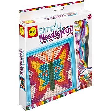 buy Alex Toys Simply Butterfly Needlepoint Kit