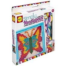 Alex Toys Simply Butterfly Needlepoint Kit