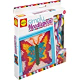 ALEX Toys Simply Needlepoint Butterfly Kids Art and Craft Activity