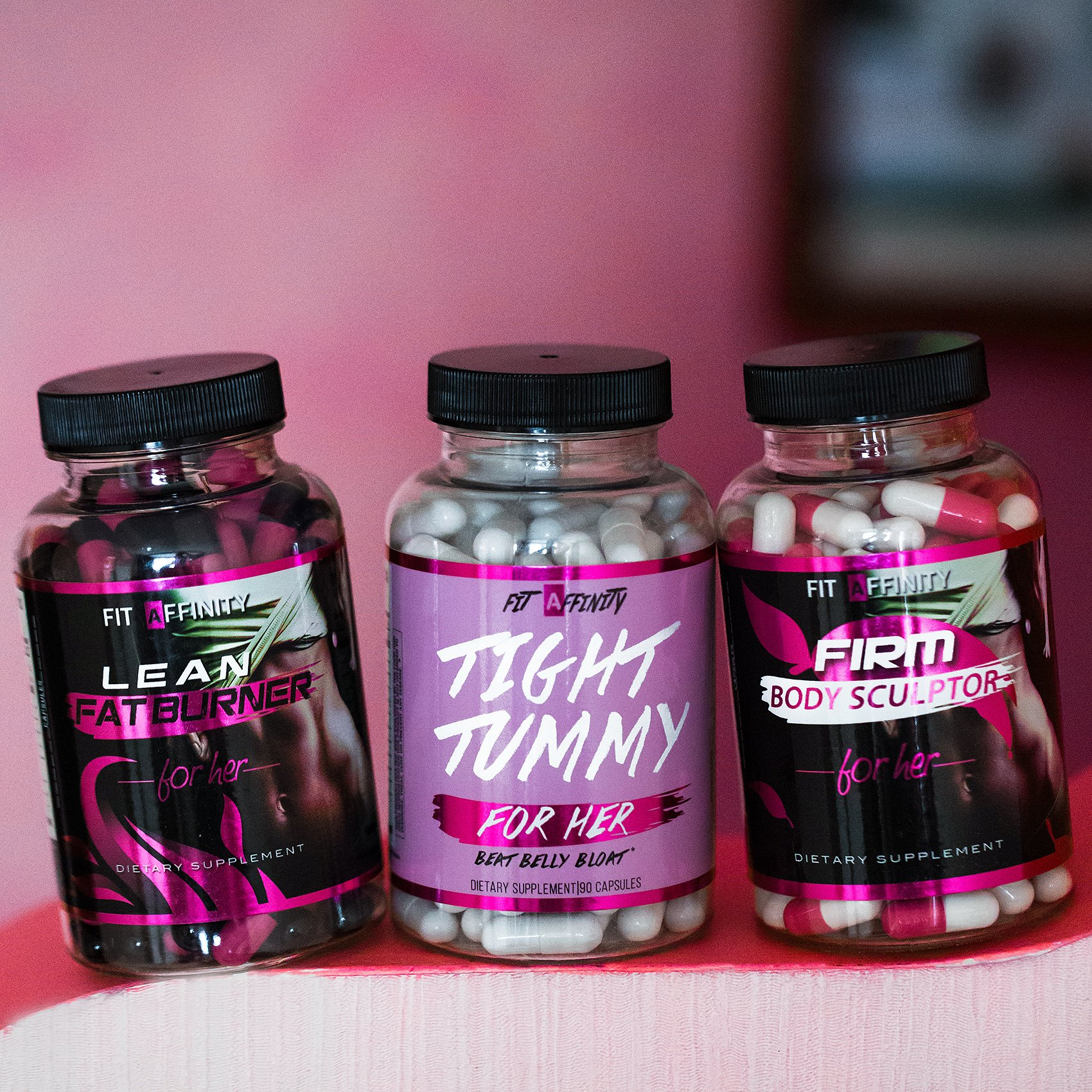 Fit Affinity - Weight Loss Bundle - Lean Fat Burner, Tight Tummy, Firm Body Sculptor by Fit Affinity (Image #5)
