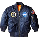Alpha Industries Little Boys' Nasa MA-1 Bomber Jacket