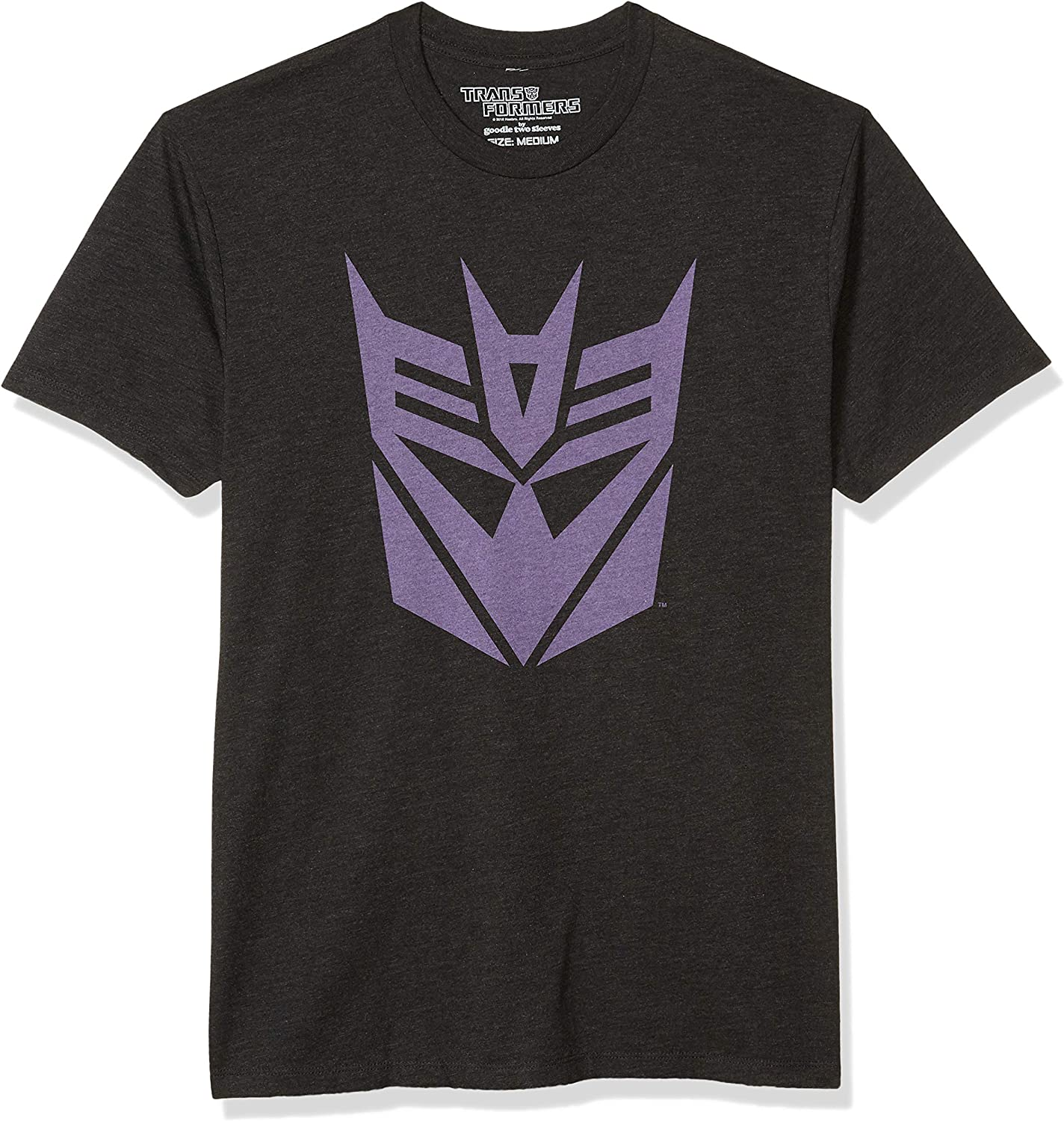 Goodie Two Sleeves Men's Transformers Decepticon Logo T-Shirt