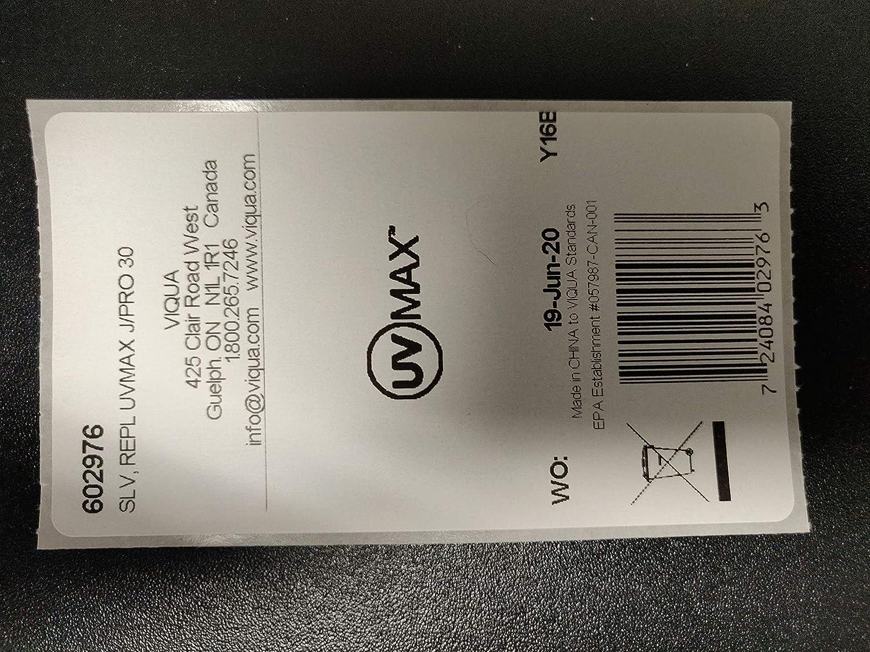 Viqua 602976 Quartz Sleeve For UV Lamp 602856