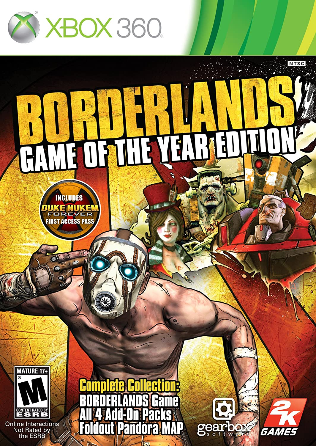 Take-Two Interactive Borderlands - Juego (Xbox 360): Amazon.es: Videojuegos