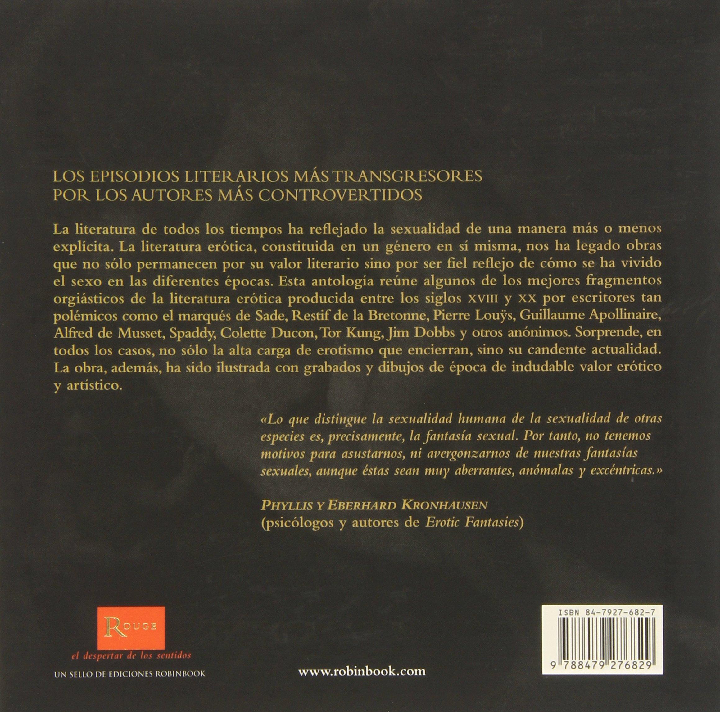 El libro de las orgias (Rouge (robinbook)): Amazon.es: Ruben Krause: Libros