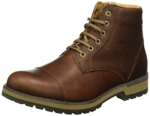 camel active Men's Adventure 12 Biker Boots, Brown (Brandy 02), 8 UK